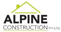 Alpine Construction Retina Logo